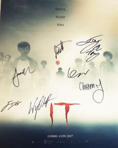 IT-7X-CAST-signed-16x20-Poster-Finn-Wolfhard-Jack-Dylan-Grazer-JSA-COA-412-478