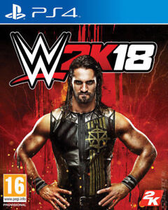 WWE-2k18-ps4-mint-Same-Day-Dispatch-Via-super-schnelle-Lieferung