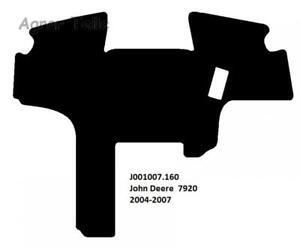 Fussmatte-Velour-John-Deere-7920-ab-2004-bis-2007