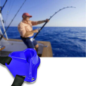 Waist Gimbal Fighting Fishing Belt Rod Holder Adjustable Pole Stand Tackle AL