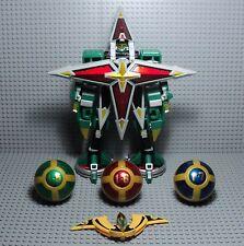 power rangers ninja storm Deluxe Samurai Star Lightning Megazord bandai + sphère
