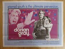 DORIAN GRAY (1970) - original UK quad film/movie poster, horror, Richard Todd