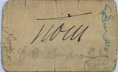 Rare CHARLES A. LINDBERGH Autograph + Other Aviators