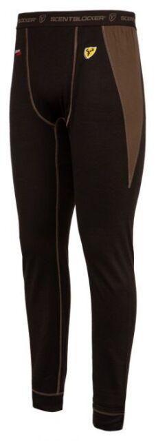 0f290703f Scentblocker Men's S3 Apex Mid WT Weight Baselayer Merino Wool Pants Large