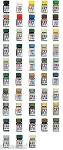 Tamiya-Enamel-Paint-10ml-Mini-Bottle-Flat-Color-XF1-XF71