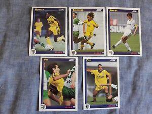 PARMA-1992-93-Lotto-di-5-cards-Lot-of-5-cards-SCORE-93-SERIE-A-SOCCER