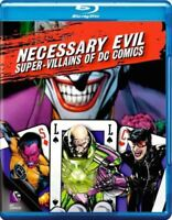 Necessary Evil: Super-Villains of DC Comics on Blu-Ray with Digital Copy