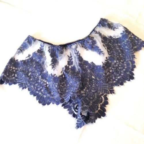 Shortie floreale in Nuovo Angels Secret Large Blu Dream Panty pizzo Shorts Victoria's RvYIPq