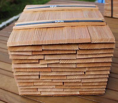 Gespalten Holzschindeln Gartenhaus Vordach Spielhaus Lärchenschindeln 30cm