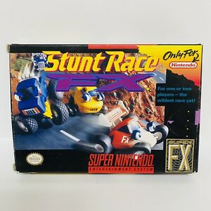 Stunt-Race-FX-Box-amp-Cartridge-Only-Super-Nintendo-SNES-FAST-SHIPPING