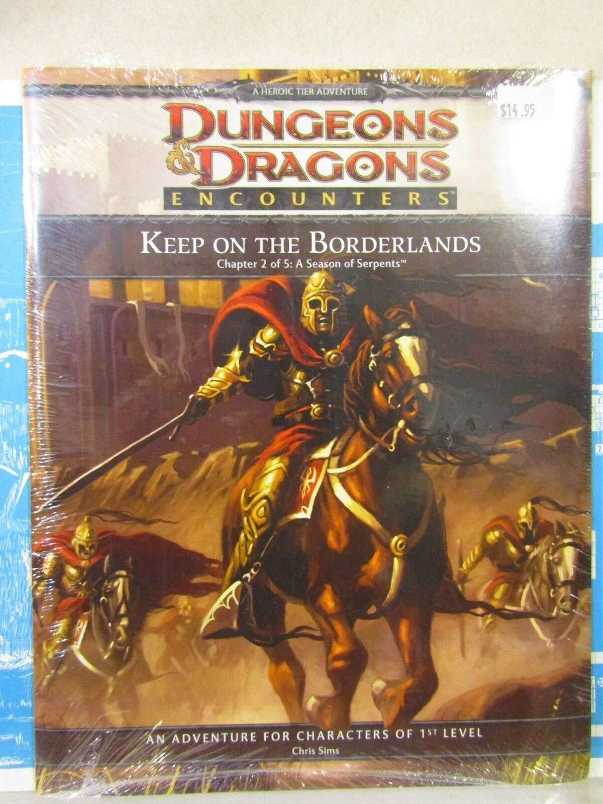Dungeons & Dragons Keep on the Borderlands Chapter 2 shrinkwrap   SW