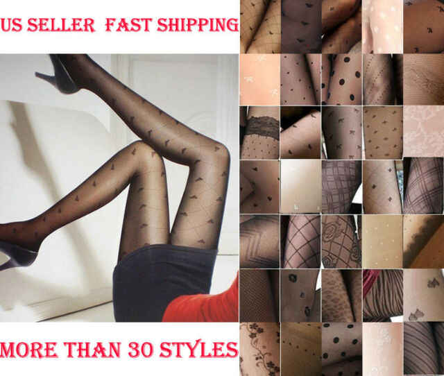 Brand New Super Sexy Pretty Pattern Women Pantyhose Stockings-Multiple styles