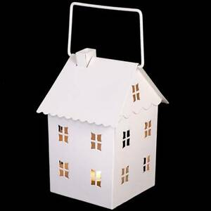 NUOVO-Color-Crema-Shabby-Chic-Metallo-Te-Leggero-Candela-Cottage-casa-stile-lanterna-Matrimonio