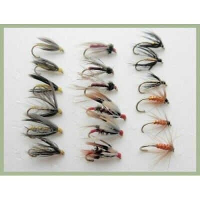 Trout Flies For Fly Fishing size 10 Mini Lures 18 Coloured Cormorant