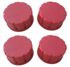 Cm Concepts Gas Can Replacement Solid Base Caps Coarse Thread 4 Pack