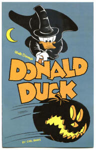 DONALD-DUCK-NM-Ashcan-Halloween-2011-Carl-Barks-more-Disney-in-store