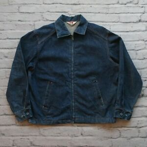 Vintage-60s-Ben-Davis-Selvedge-Denim-Jean-Jacket-Made-in-USA