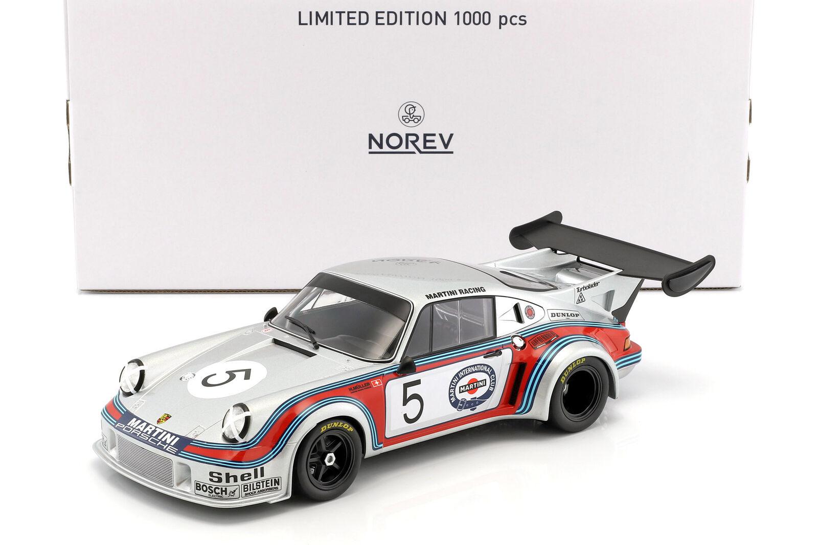 PORSCHE 911 Carrera RSR Turbo 2.1 #5 1000km Brands Hatch 1974 Müller, Van Lenne