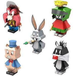 Fascinations-Metal-Earth-Legends-LOONEY-TUNES-3D-Laser-Cut-Puzzle-Model-Kit