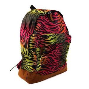 Mi-Pac-HOT-Cebra-Mochila-Mochila-unisex-color-arco-iris-80100