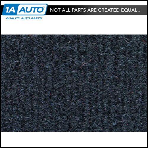 for 1993-97 Geo Prizm 4 Door Cutpile 840-Navy Blue Complete Carpet Molded