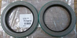 Details about NEW Lot Of 2 CR Seals CR-38731 Nitrile Rotary Shaft Oil Seal  SKF 7175512