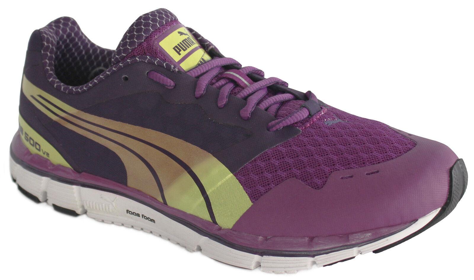 Puma Faas 500 V2 Mujer Chica Zapatillas para Running con Malla y Cordones 186489