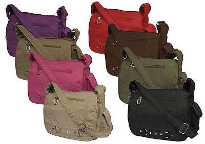 Tasche Damentasche Handtasche Stofftaschen Schultertasche Farbwahl