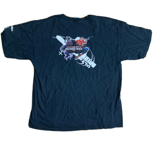 2005 Ultimate Spider Man Activision Promo T Shirt