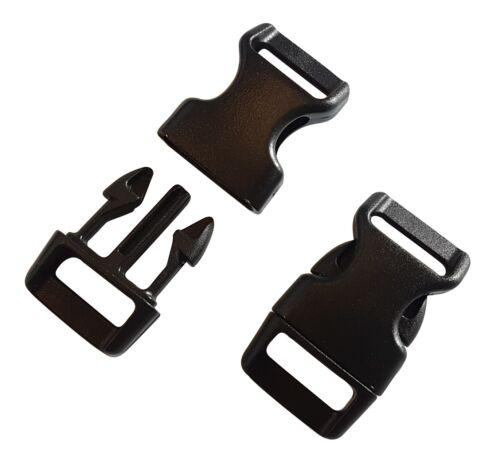 Steckschnalle Klick Verschluss Klickschnalle Plastik Kunststoff Gurt Band