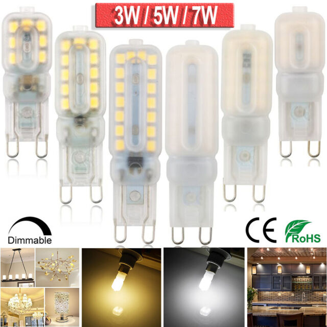 G9 LED Bulb Dimmable Energy Saving Capsule Lights 3W 5W 7W Replace Halogen Bulbs