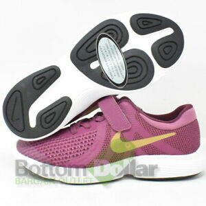 Nike-AH3455-500-Girl-039-s-Free-RN-2018-PSV-Shoes-Violet-Dust-Mtlc-Gold-Star-2Y