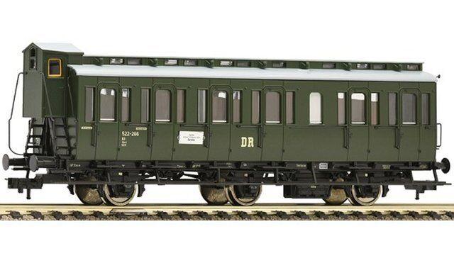 Fleischmann 507002 K H0 DC Abteilwagen Bauart C3 pr11, m Bh, DR, Neu OVP
