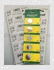5 X CR1620 1620 DL1620 BR1620 High Quality Card 3V Lithium battery remote