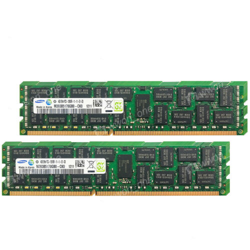 Samsung 32GB 8x4GB 2Rx4 PC3-12800R DDR3-1600 240Pin ECC Registered Server Memory