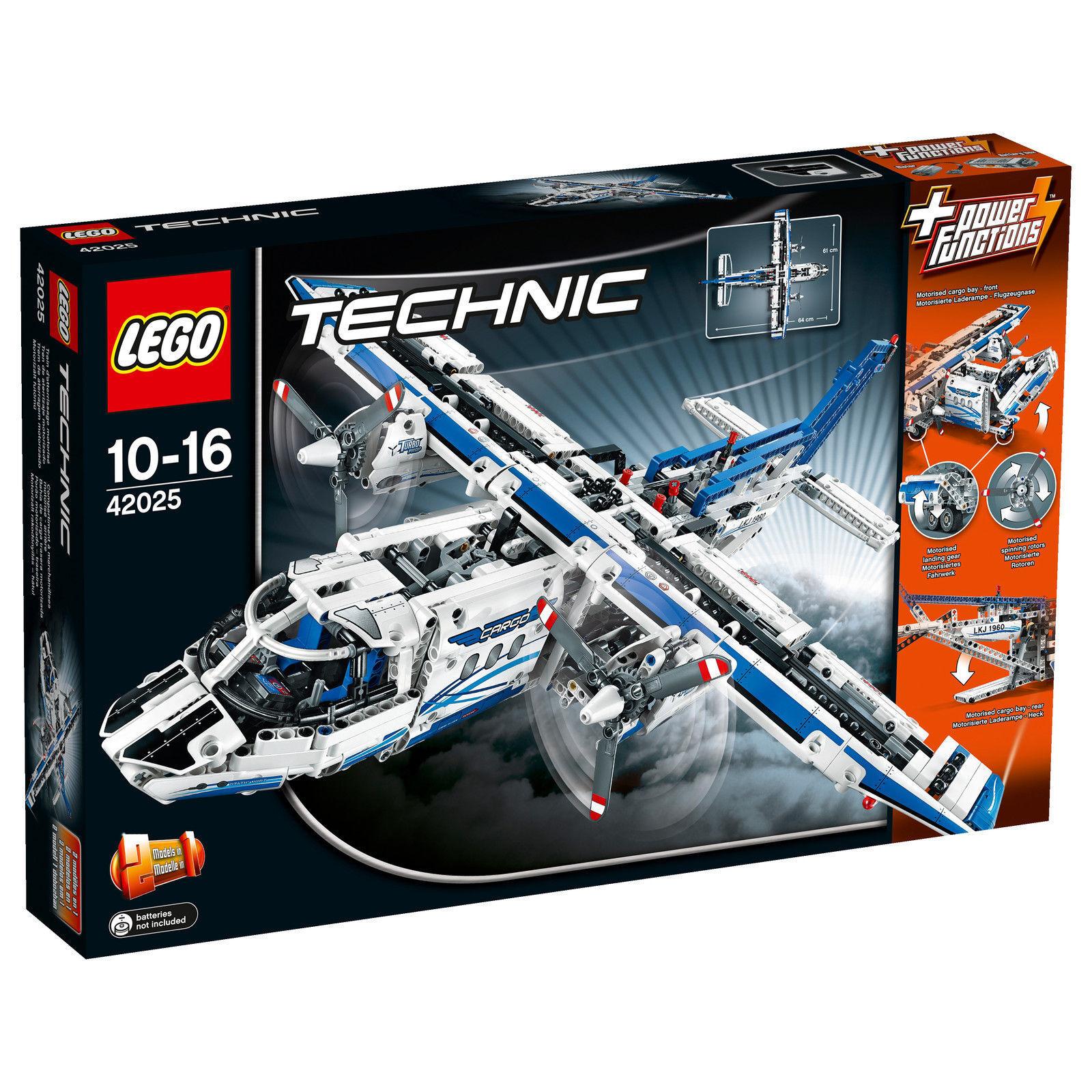 LEGO® Technic 42025 42025 42025 Frachtflugzeug NEU & OVP Cargo Plane or Transport Hovercraft c0e191