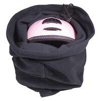 Ski/snowboard Protective Fleece Helmet Bag Fits Bike Cycle Riding Helmets Too