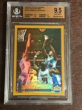 2003-04 CARMELO ANTHONY TOPPS CHROME GOLD REFRACTOR ROOKIE CARD /50  GEM MINT