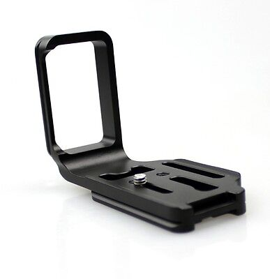 New Vertical L-Bracket Tripod Quick Release Plate Holder For Nikon D7100 Camera