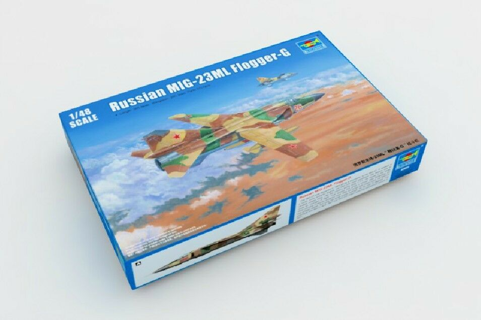 02855 1/48 Model Trumpeter Russian MIG-23ML Flogger-G Fighter Warplane Aircraft