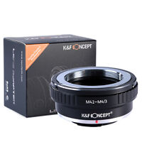 M42 M 42 Mount Lens to Micro 4/3 M4/3 Mount Adapter G1 GF1 GH1 E-P2 E-P1 M42-M43