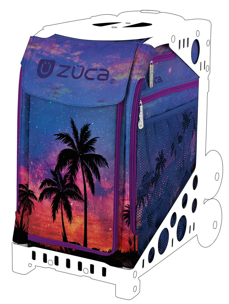 ZUCA Sports Insert Bag - ISLAND LIFE  - NEW  - NO FRAME INCLUDED  welcome to buy