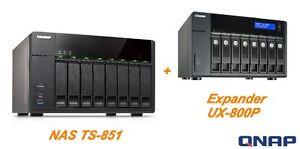 "€ 1250+iva Qnap 16-bay 3,5""/2,5"" Ts-851+ux-800p 2xgbe Hdmi - 1 Year Warranty Lfg7invo-07163257-164179334"