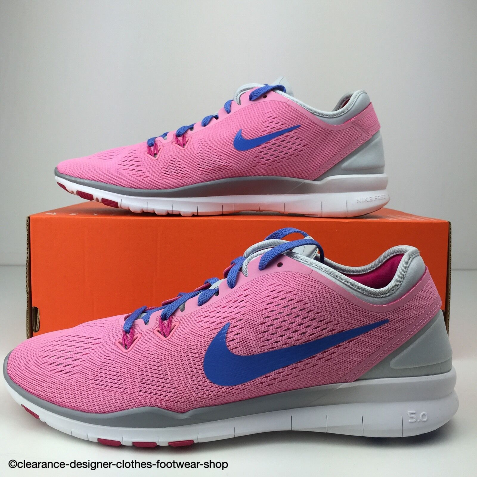 NIKE FREE 5.0 TR FIT 5 TRAINERS femmes RUNNING rose TRAINING SHOE7130