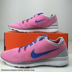 NIKE FREE 5.0 5 TR FIT 5 5.0 TRAINERS Damenschuhe RUNNING PINK TRAINING SHOE UK ... 58d4c6