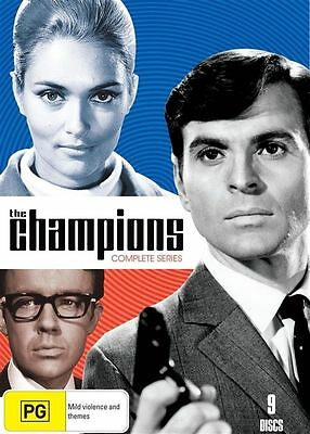The Champions Complete Series DVD Brand New Region 4 PAL