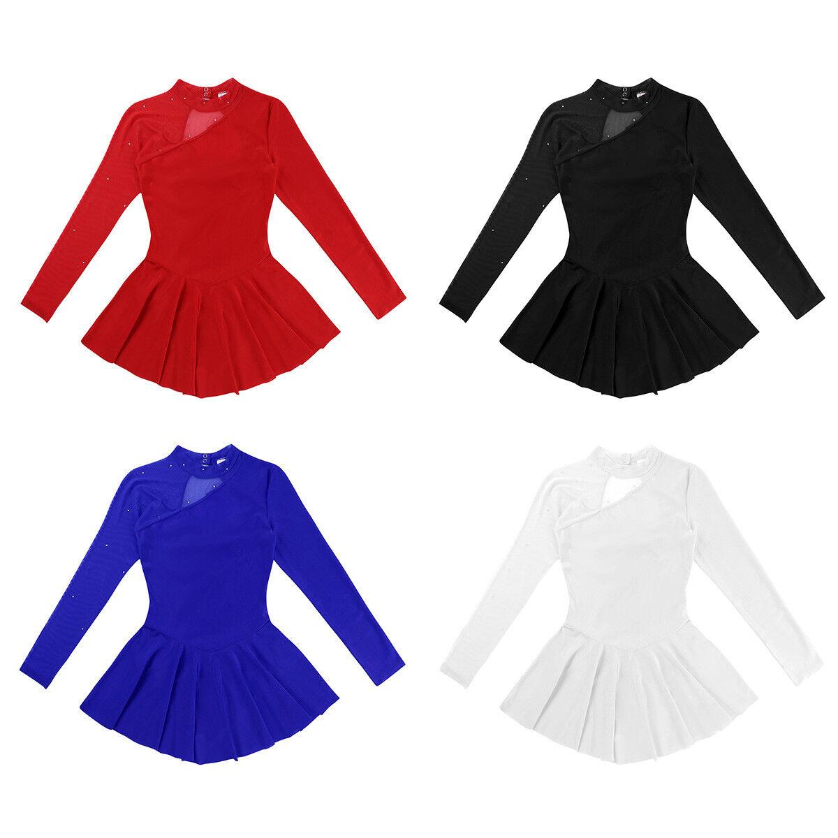 ladies long sleeve dance dress elegant ballet dress ballet dance jersey  with skirt