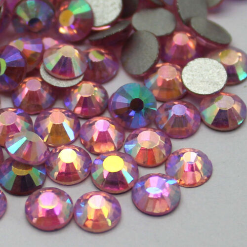 wholesale Gava Glass Flatback Rhinestones SS16~SS20 Multiple Colors AB Crystal