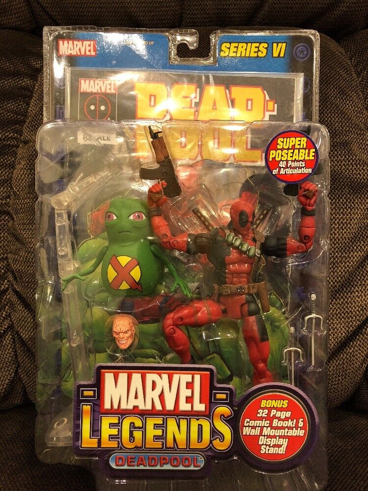 Marvel Legends Series VI 6 - DEADPOOL w  DOOP - in SEALED box