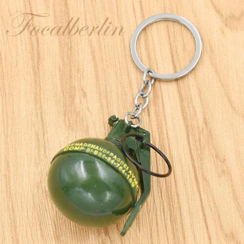 Mini Granate Bomben Form Schlüsselanhänger Kreativ Herr Keychain Schlüsselring